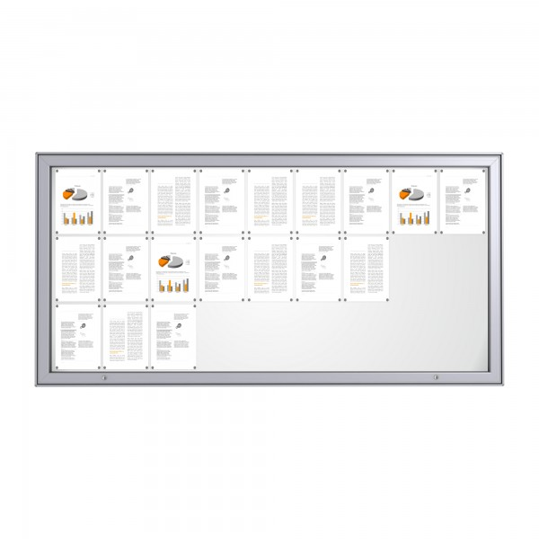 RAL Coloured Notice Board – 27xDIN A4 - MAXI