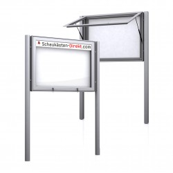 Free Standing Noticeboard Maxi Case
