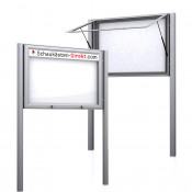 Free Standing Noticeboard Midi Case