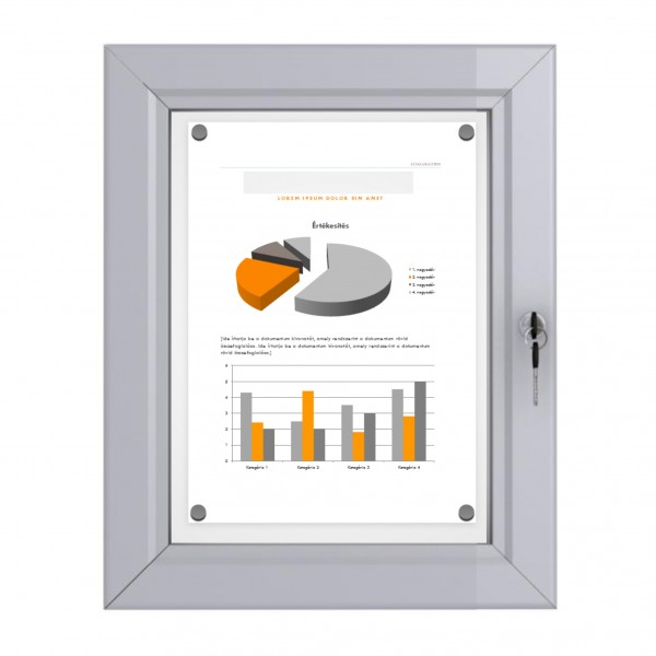 Outdoor Notice Board –  1xDIN A4