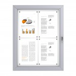 RAL Coloured Notice Board – 4xDIN A4 - BASIC