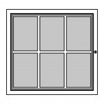 Felt Notice Board – 6xDIN A4 - BASIC