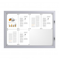 Outdoor Notice Board – 8xDIN A4