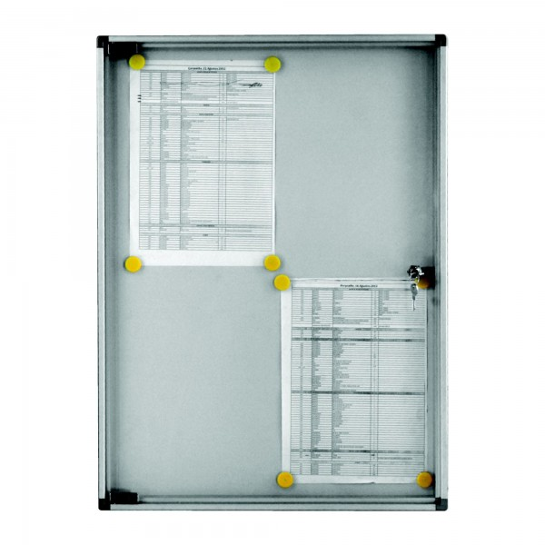Indoor Noticeboard – 4xDIN A4 (Magnetic)